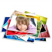 Papel Fotográfico A4 230g Glossy Branco Brilhante Resistente à Água / 500 folhas