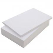 Papel Fotográfico Matte Fosco 230g A4 Branco Sem Brilho Resistente à Água / 100 Folhas