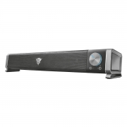 Soundbar para PC e TV com Botão de Volume e Entradas para Fone e Microfone Frontais 6W RMS Trust GXT 618 Asto Sound Bar