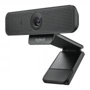 Webcam para Negócios Logitech C925e FULL HD 1080p Suporte H.264 Microfones Omnidirecionais Duplos 960-001075