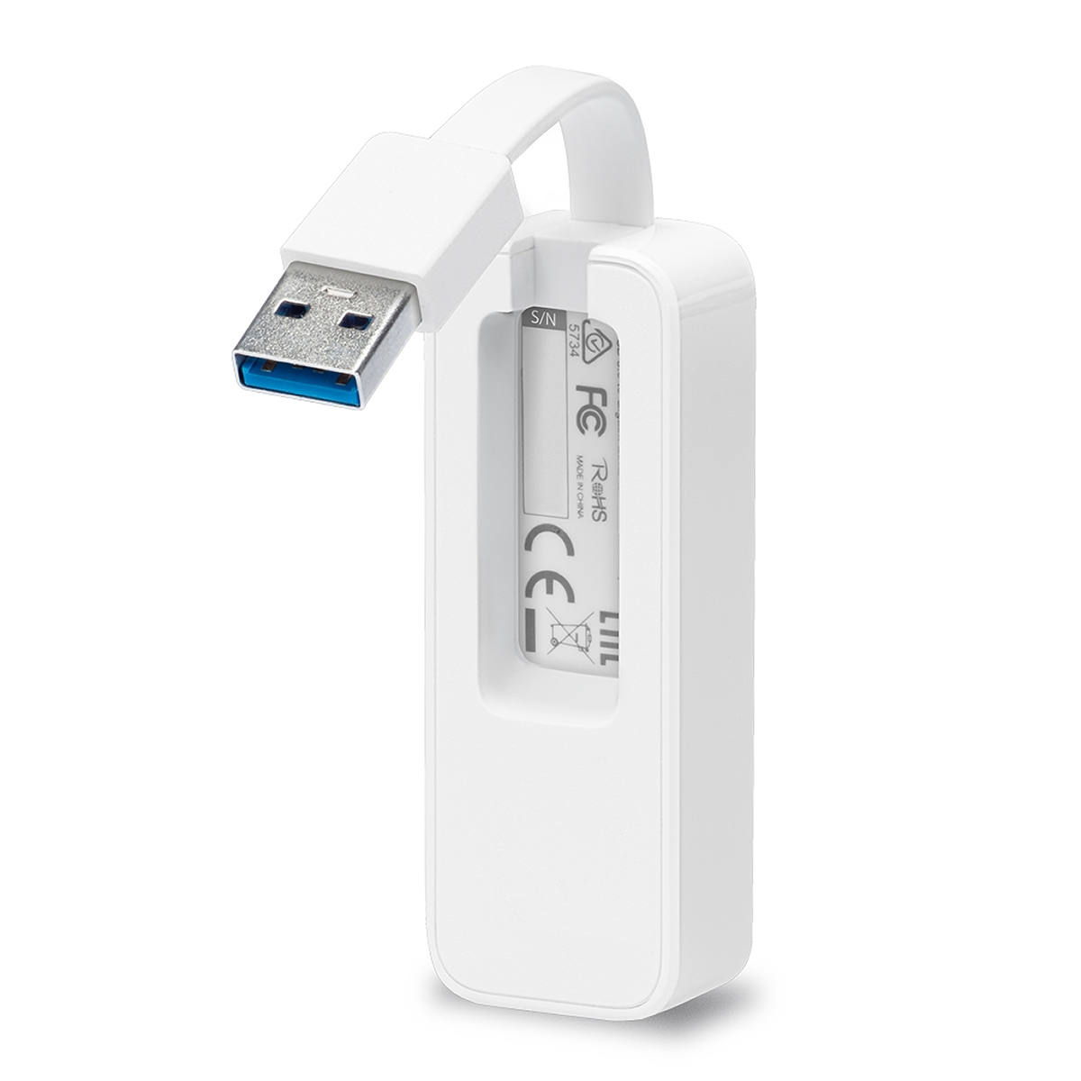 Adaptador USB 3.0 para Rede Gigabit RJ45 Ethernet TP-Link UE300