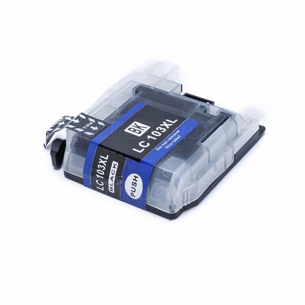 Compatível: Cartucho de Tinta LC103 LC105 LC107 XL para Brother MFC-J4310dw J4610dw J6520dw J6720dw J6920 / Preto / 20ml