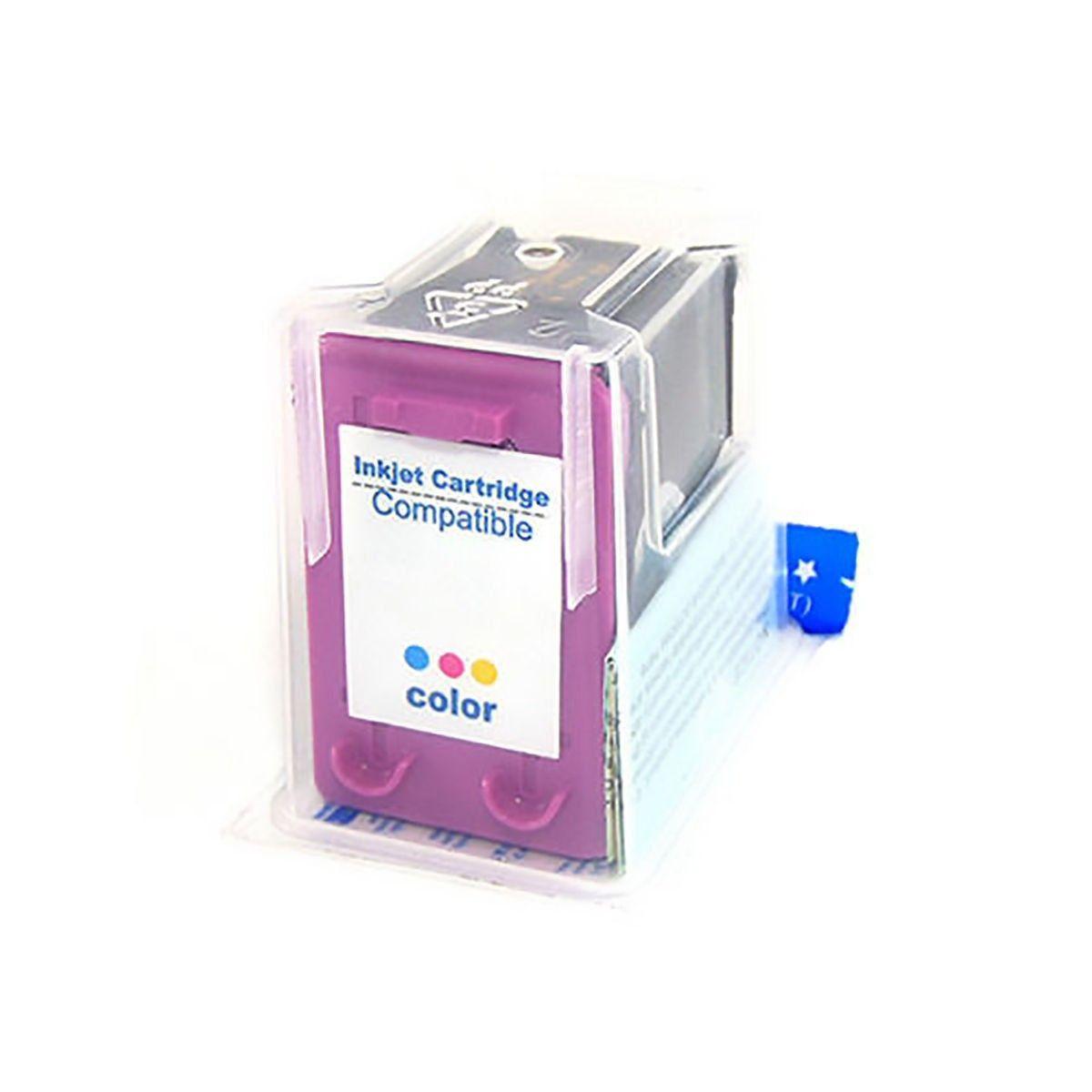 Compatível: Cartucho de Tinta 61xl 61 para HP 1050 J410a J410e 1000 J110a 1051 1010 2000 2050 2540 / Colorido / 13ml