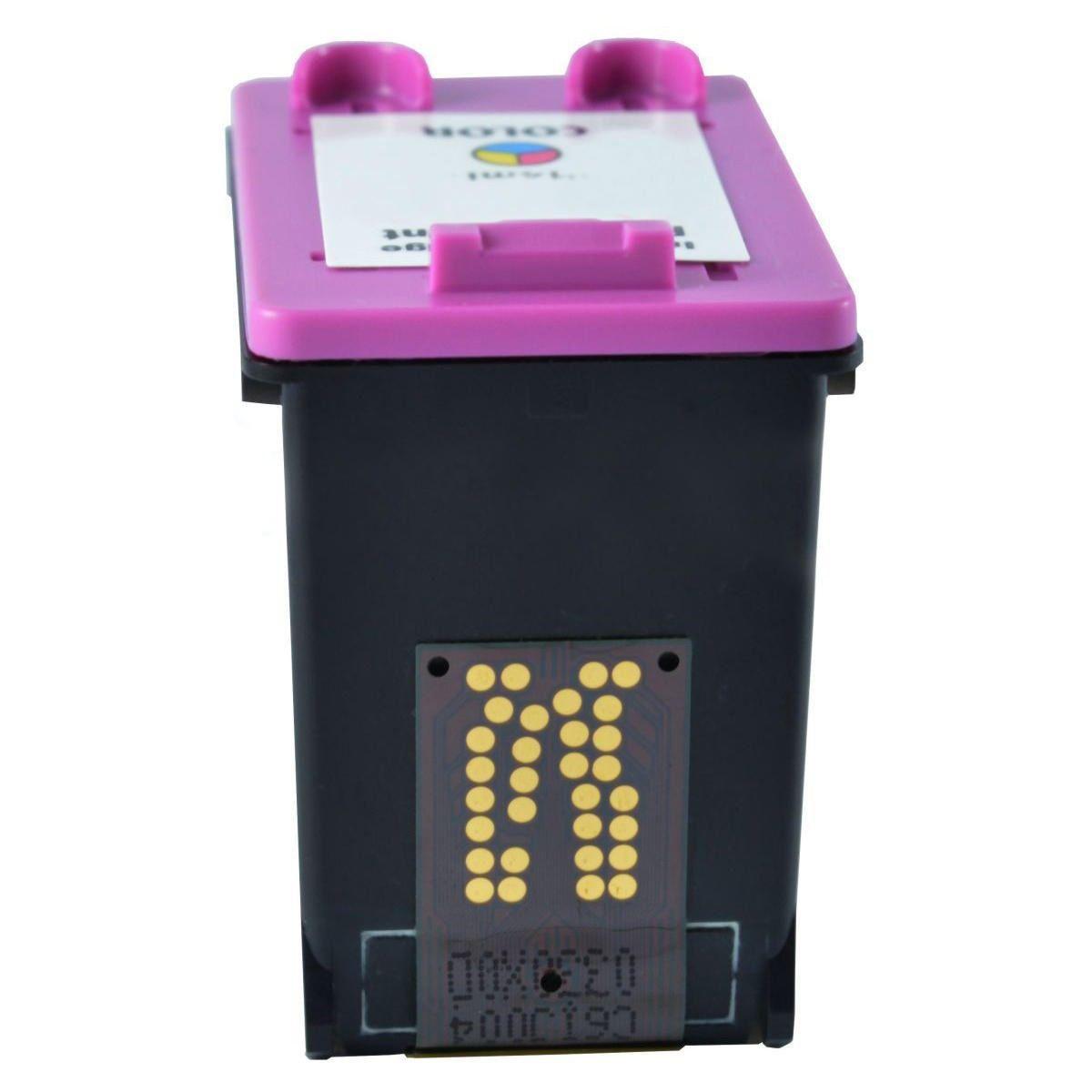 Compatível: Cartucho de Tinta 664xl 664 para Impressora HP 1115 2136 3636 3836 4536 3776 4676 / Colorido / 12ml
