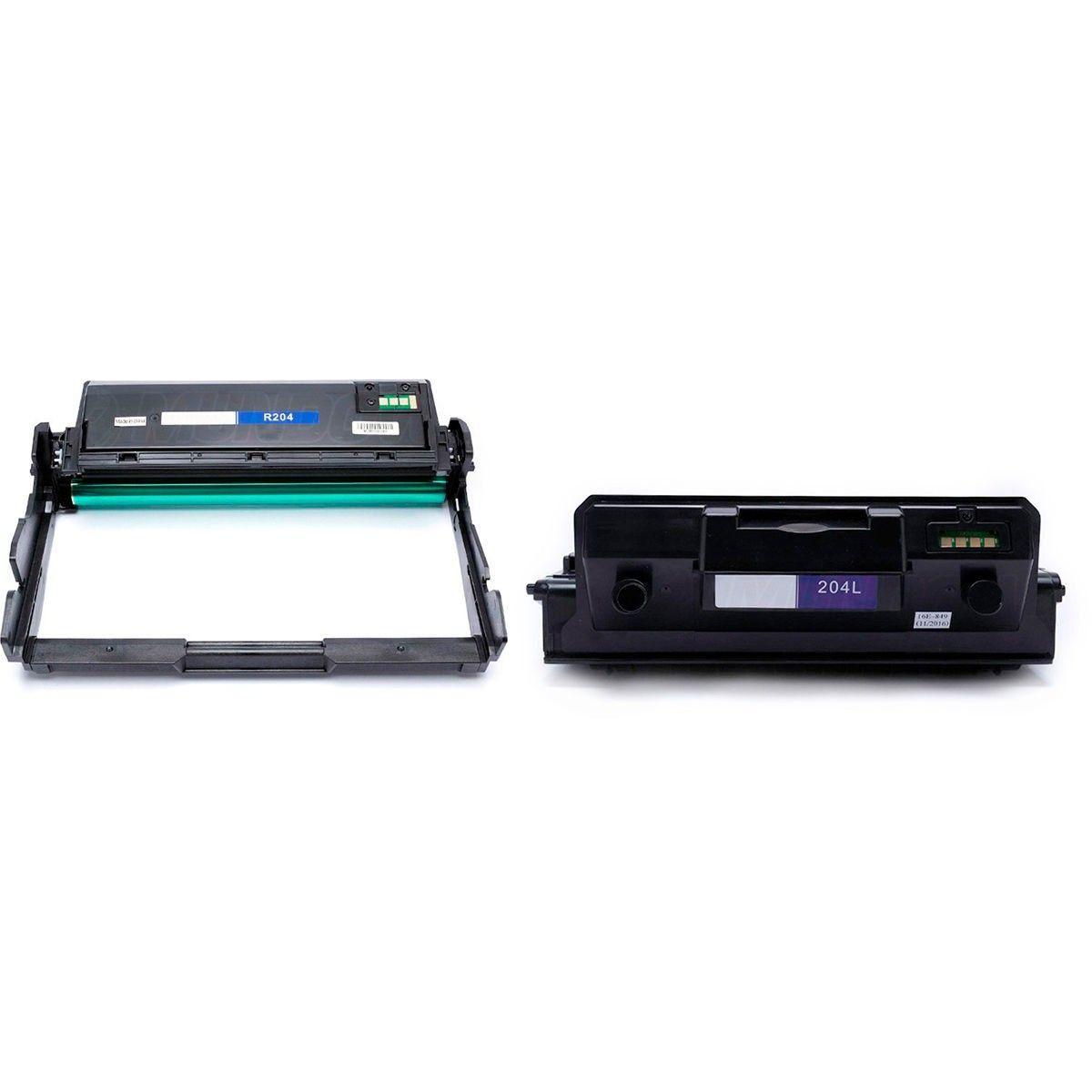 Compatível: Combo Cartucho de Cilindro R204 + Toner D204L para Samsung M3325nd M3825dw M3875fd M4025nd M4075fw 3325 4025