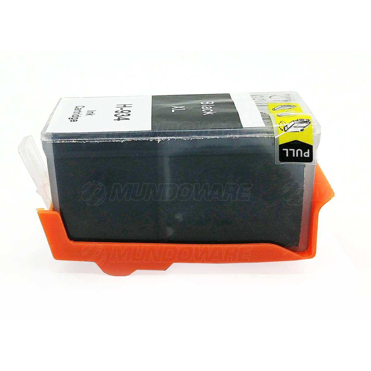 Compatível: Cartucho de Tinta 934xl 934 xl para Impressora HP Pro 6230 6830 / Preto / 53ml