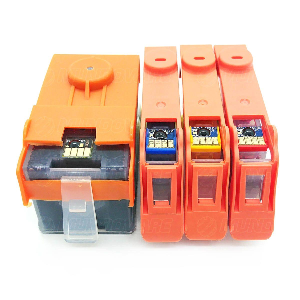 Compatível: Kit Colorido de Cartucho de Tinta 934xl 935xl para Impressora HP Pro 6230 6830