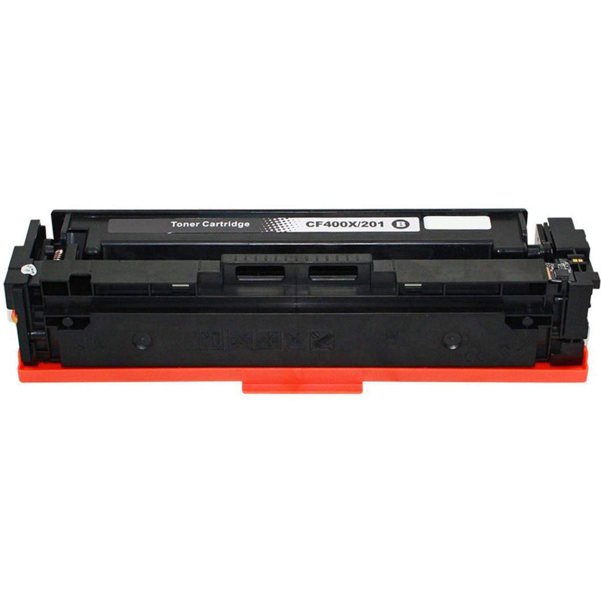 Compatível: Toner CF400X 201X para Impressora HP M252 M252n M252dw M274 M277 M277n M277dw 252dw 277dw / Preto / 2.800