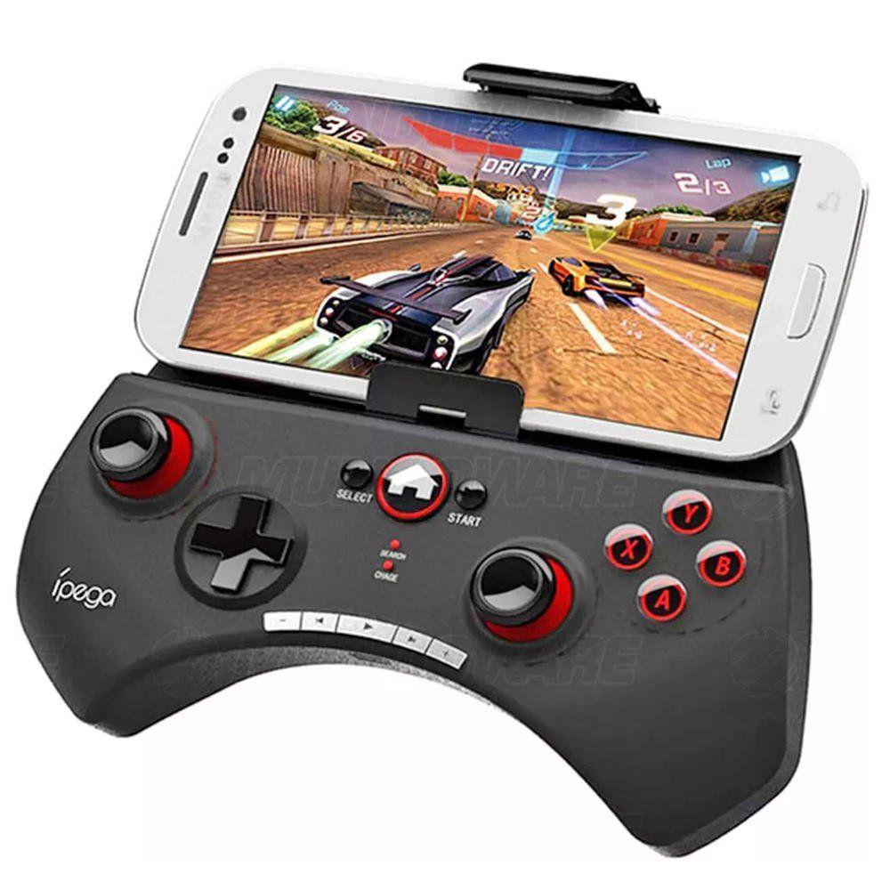 Controle Gamepad Bluetooth para Celular Android Smart TV Computador Windows IPEGA PG-9025 Original
