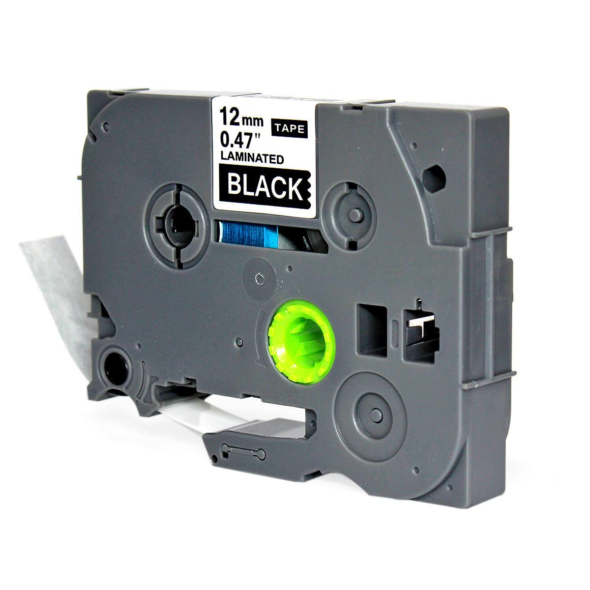 Fita Compatível para Rotulador 12mm x 8m Preto/Branco Marca X-Full Referência TZc-335 TZe-335 TZ-335 para Brother