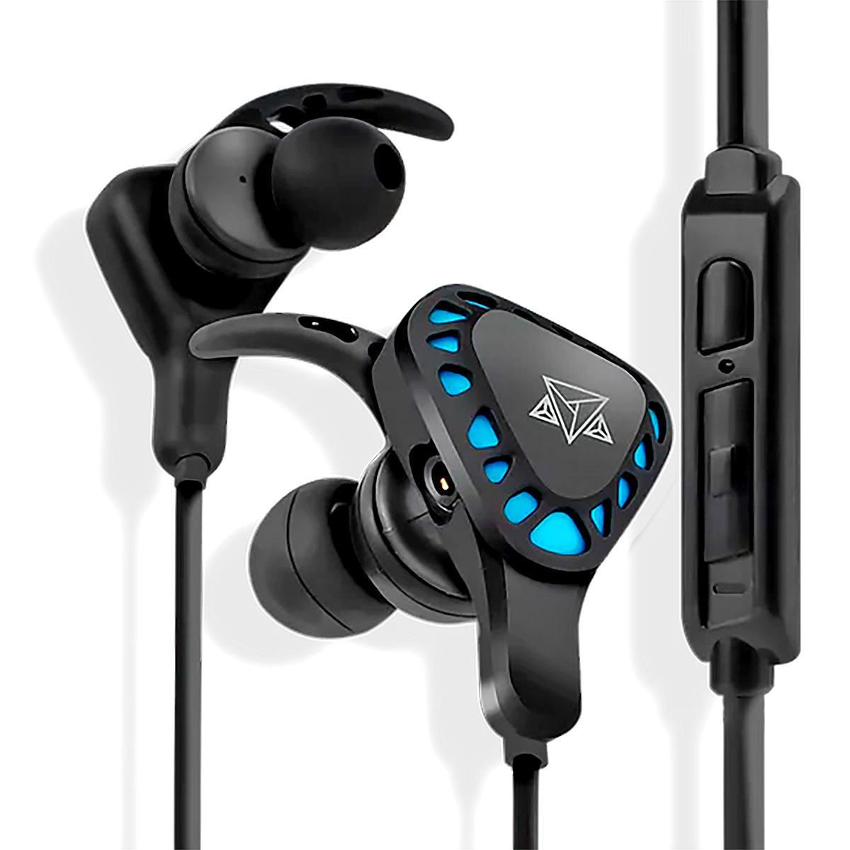 Fone com Microfone Omnidirecional Removível + Adaptador Headset In-ear Anatômicos Estéreo Adamantiun Yari AF-1001