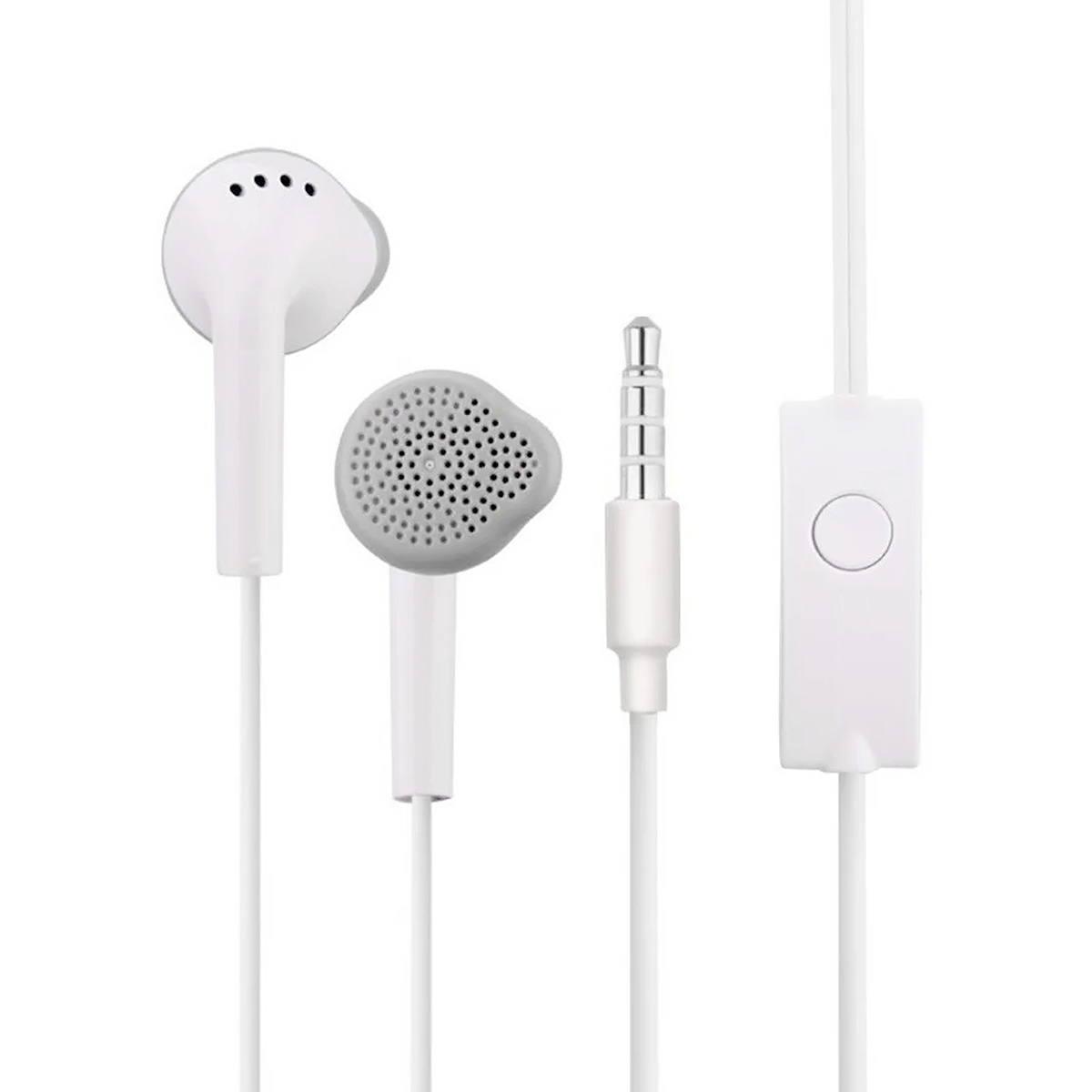 Fone de Ouvido para Celular P2 Estéreo Earphone com Microfone para Atender Chamadas Sumexr SEJ-B20 Branco