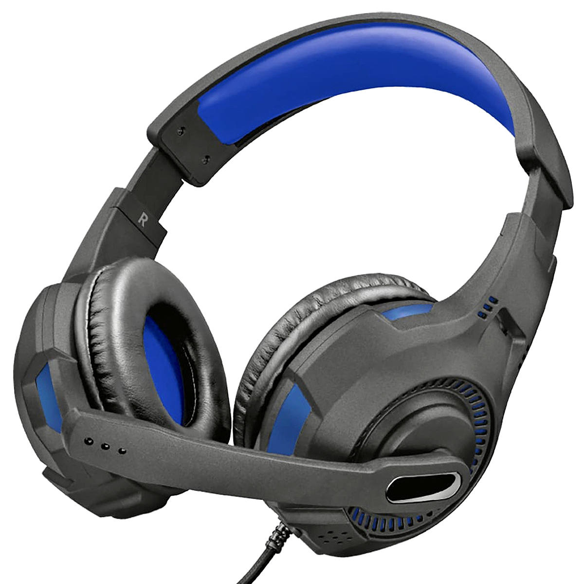 Fone de Ouvido para PS4 / PS5 com Microfone Dobrável Som Estéreo Trust GXT 307B Ravu Gaming Headset