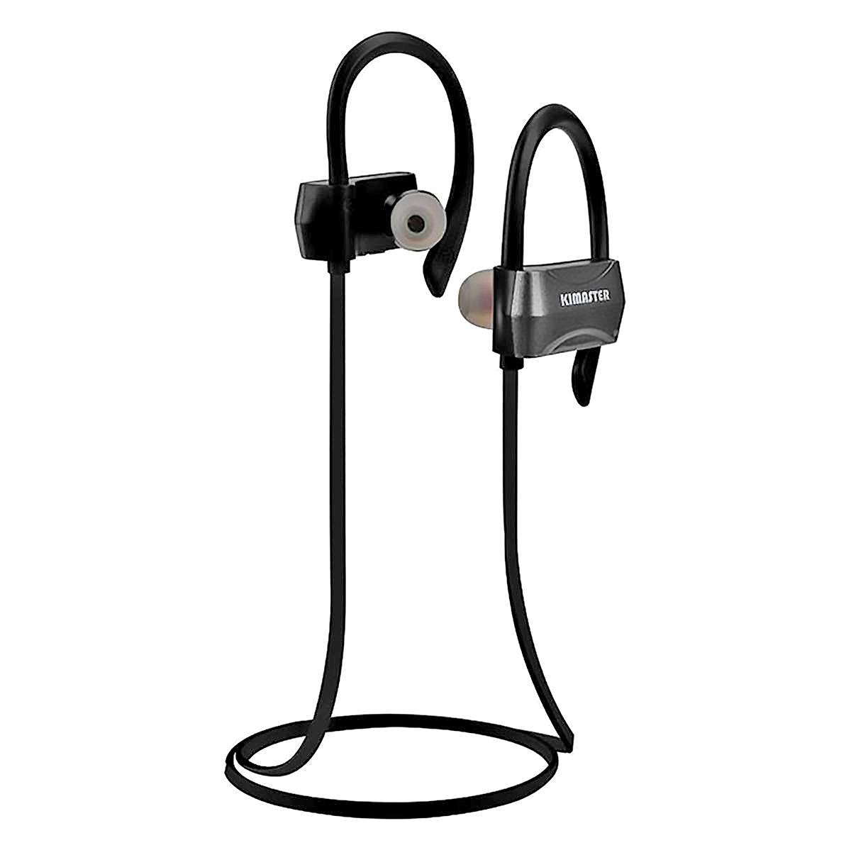 Fone Esportivo Bluetooth 5.0 Wireless Smart Stereo Sports com Áudio HD e Microfone Kimaster K30