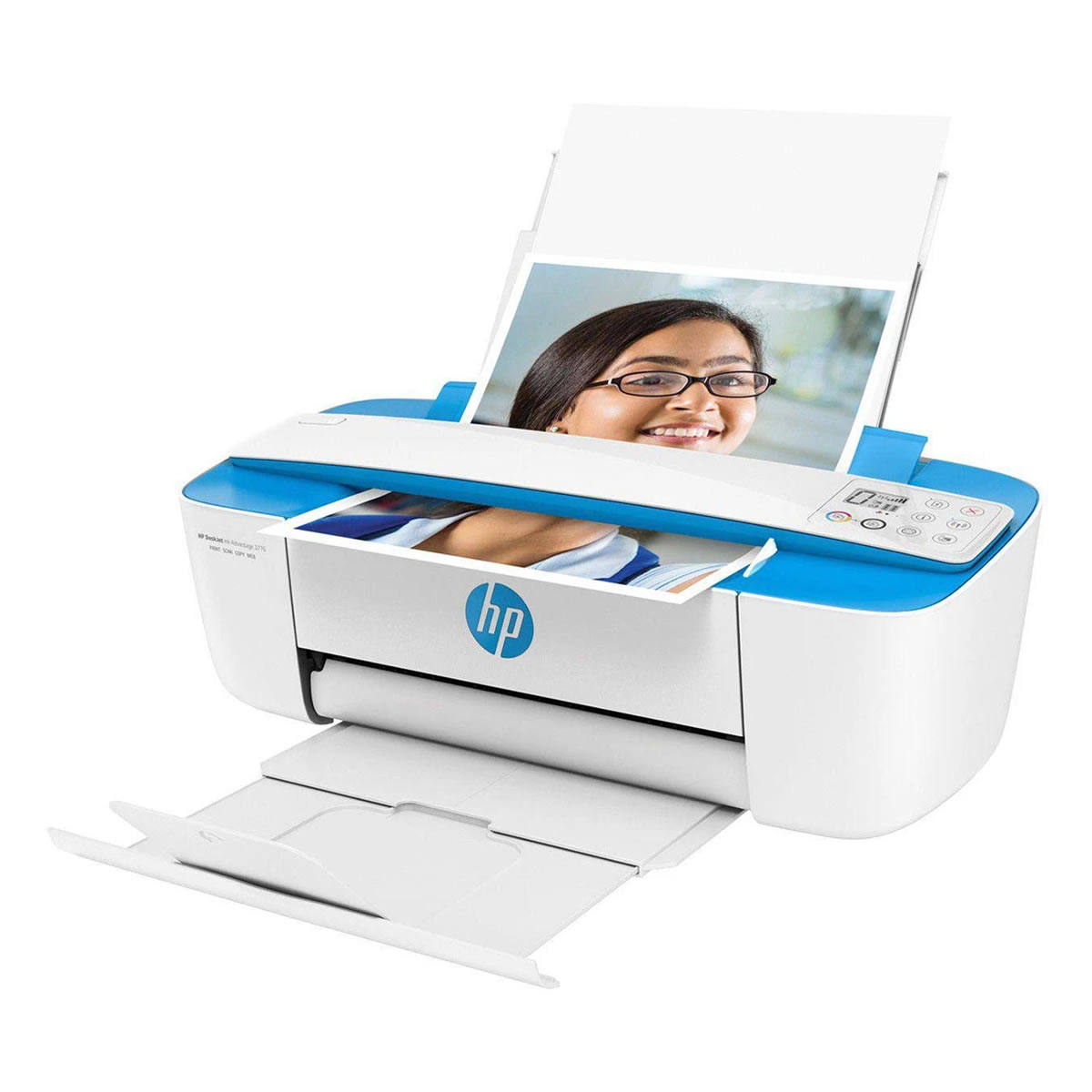 Impressora Multifuncional HP Deskjet Ink Advantage 3776 J9V88A Jato de Tinta Colorida com Wireless e USB