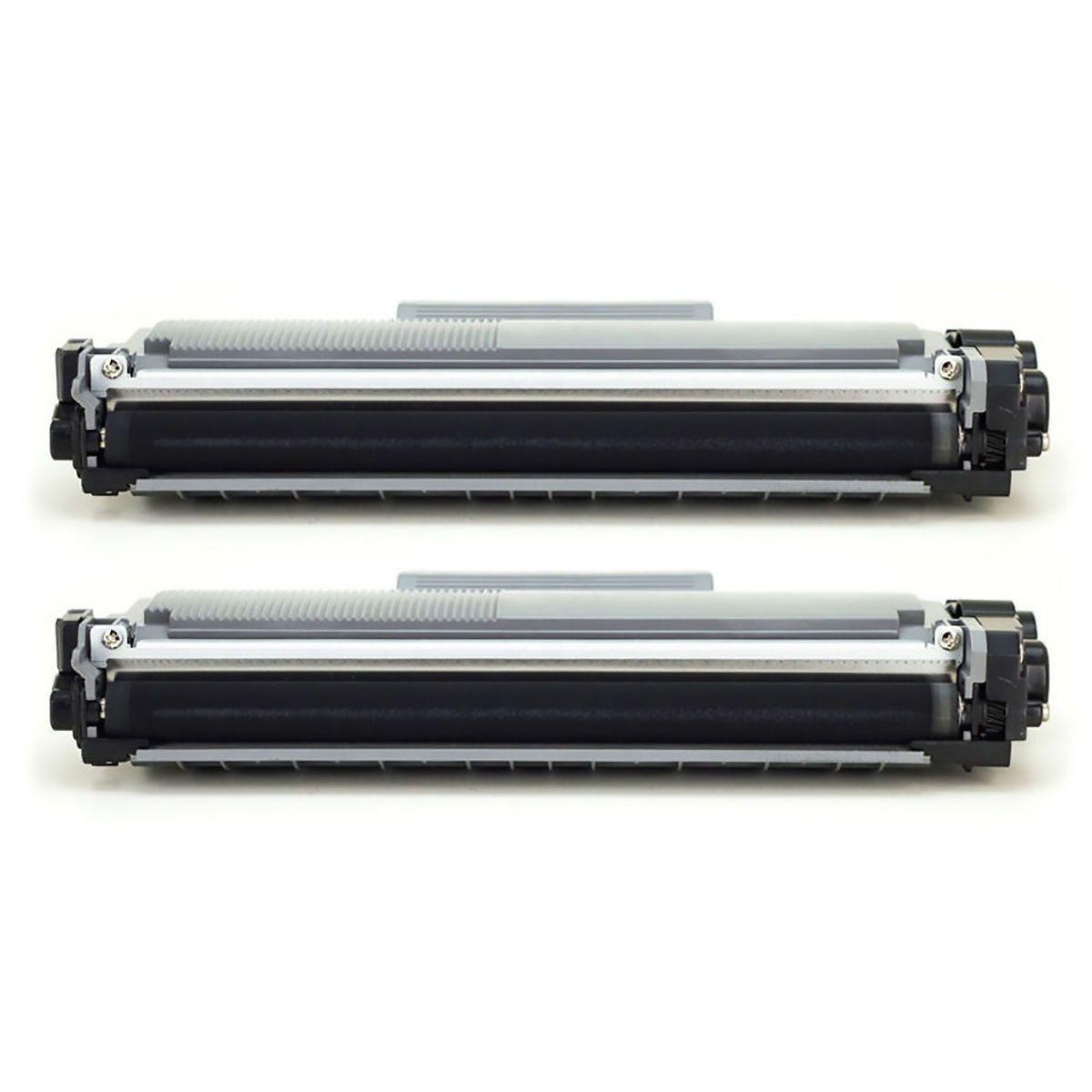 Compatível: kit 2x Toner TN660 TN2370 TN2370 para Brother DCP-L2540 L2540dw MFC-L2740dw L2720dw / Preto / 2.600
