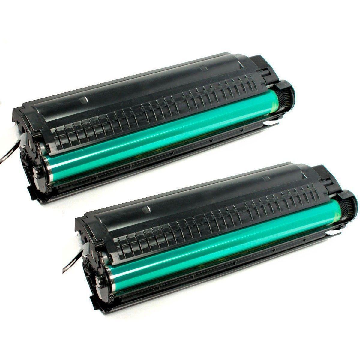 Compatível: Kit 2x Toner Q2612A para HP 1010 1012 1015 1018 1020 1022 1022n 1022nw 3020 3055nf M1005 / Preto / 2.000