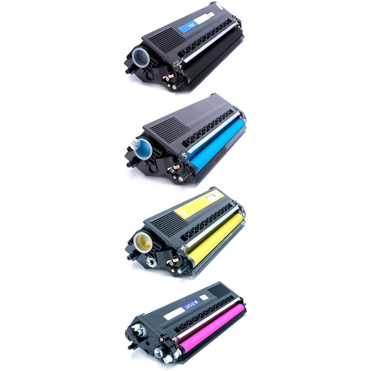 Compatível: Kit Colorido de Toner TN310 TN315 para Brother MFC-9460cdn MFC-9560cdw HL4570 HL4140cn 4150cdn 4570cdw