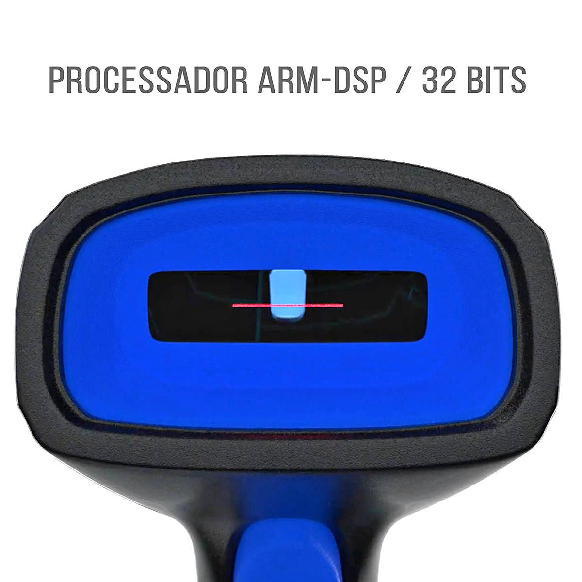 Leitor de Código de Barras USB com Fio Layout Padrão de Leitura FEBRABAN para Boletos Exbom LCB-150