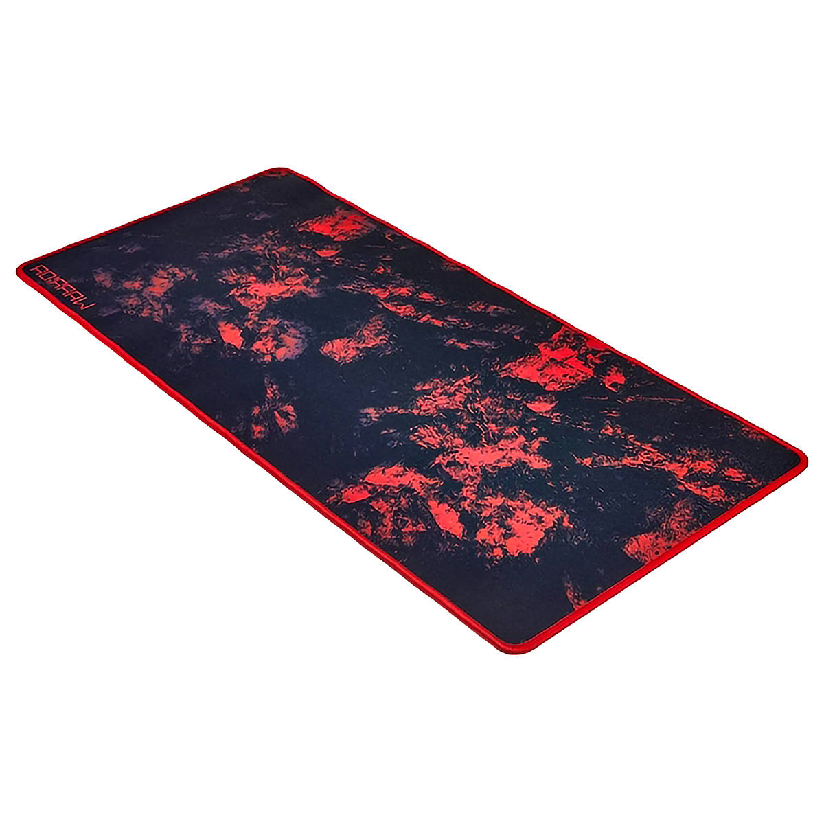 Mouse Pad para Teclado e Mouse 700x300x3mm Soft Mat Vermelho Warrior AC301