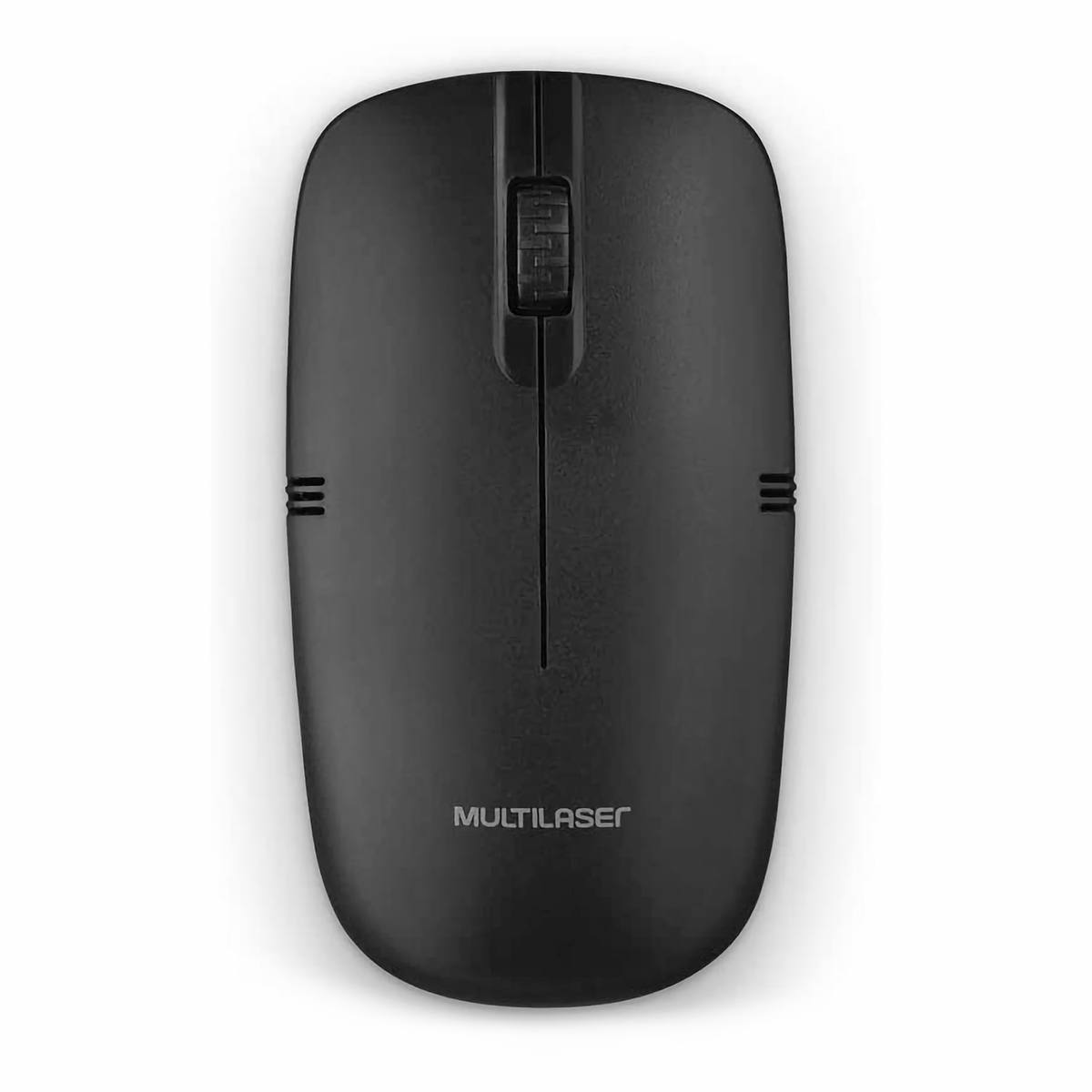 Mouse Sem Fio 1200DPI 2.4GHZ Wireless USB Preto Multilaser MO285