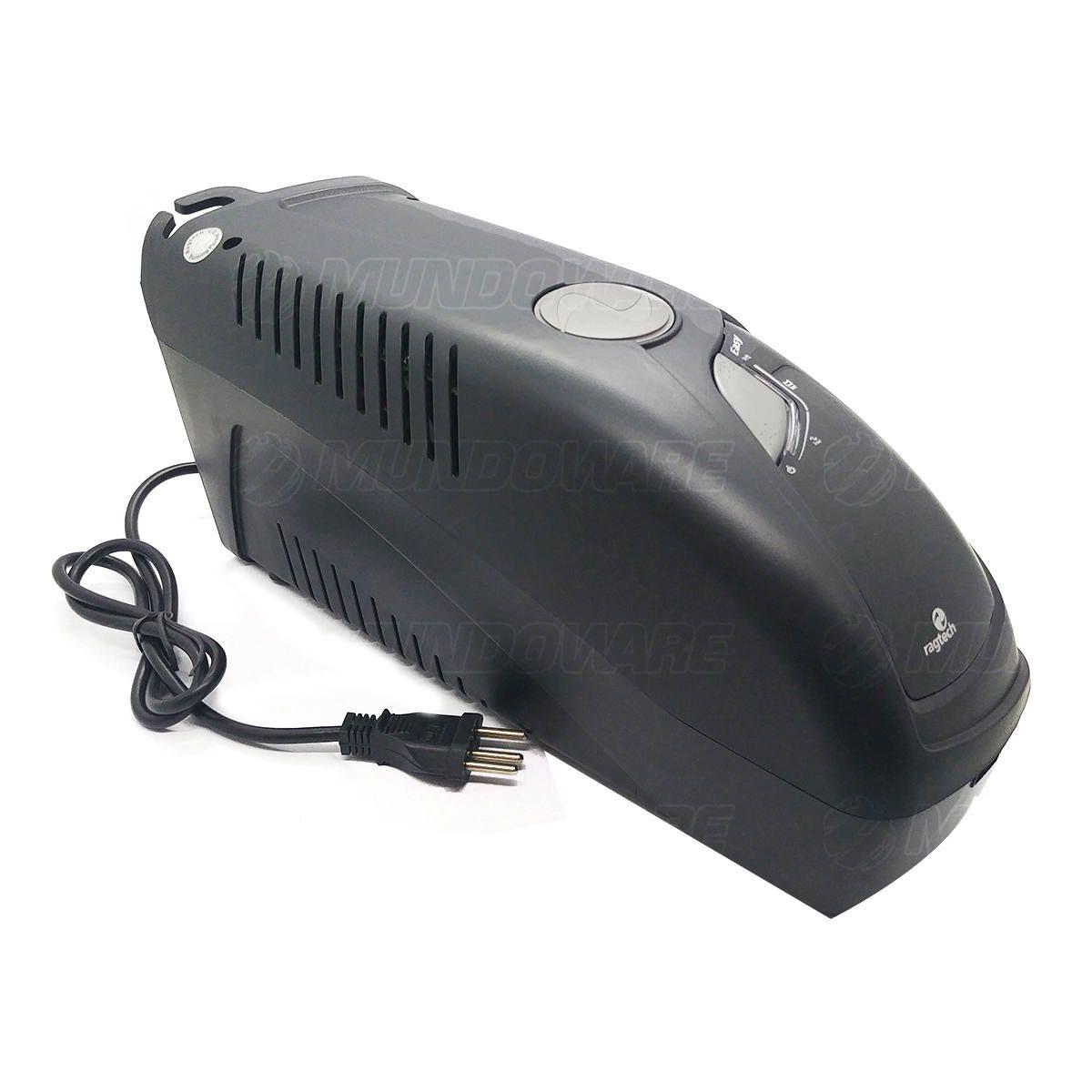 Nobreak 1200VA 600W Conector de Bateria Externa Trivolt 6 Tomadas 3 em 1 Estabilizador e Filtro Ragtech EasyWay 4141