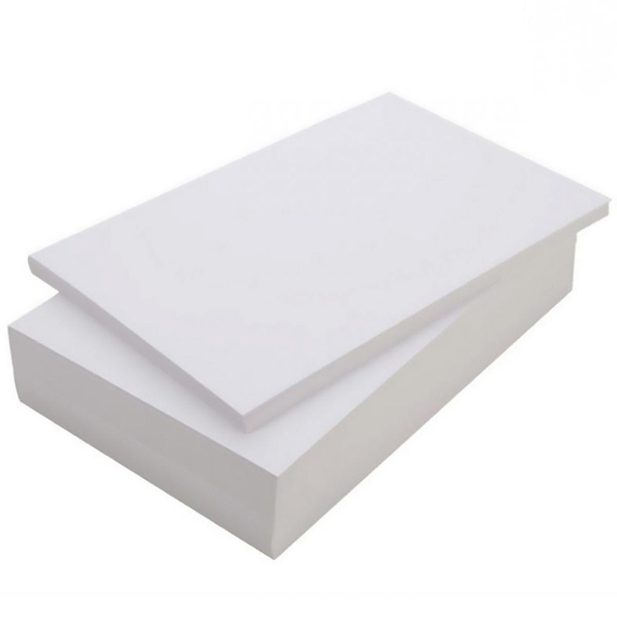 Papel Foto Adesivo Matte Fosco 108g A4 Branco Resistente à Água / 100 folhas