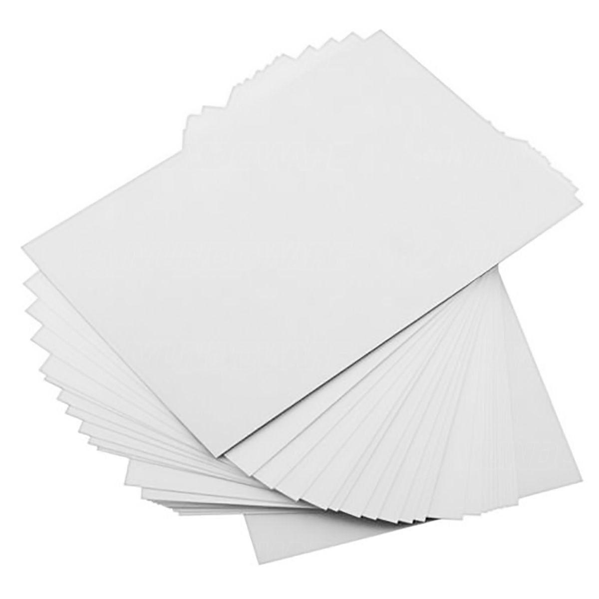 Papel Foto Adesivo Matte Fosco 108g A4 Branco Resistente à Água / 200 folhas