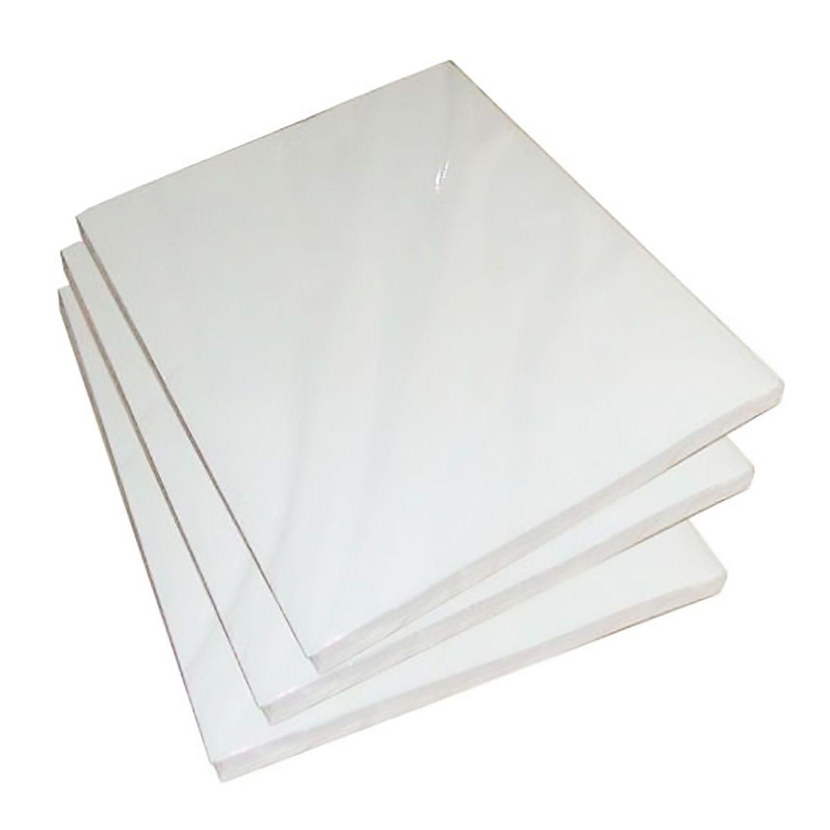 Papel Fotográfico 230g A4 Glossy Branco Brilhante Resistente à Água / 50 folhas