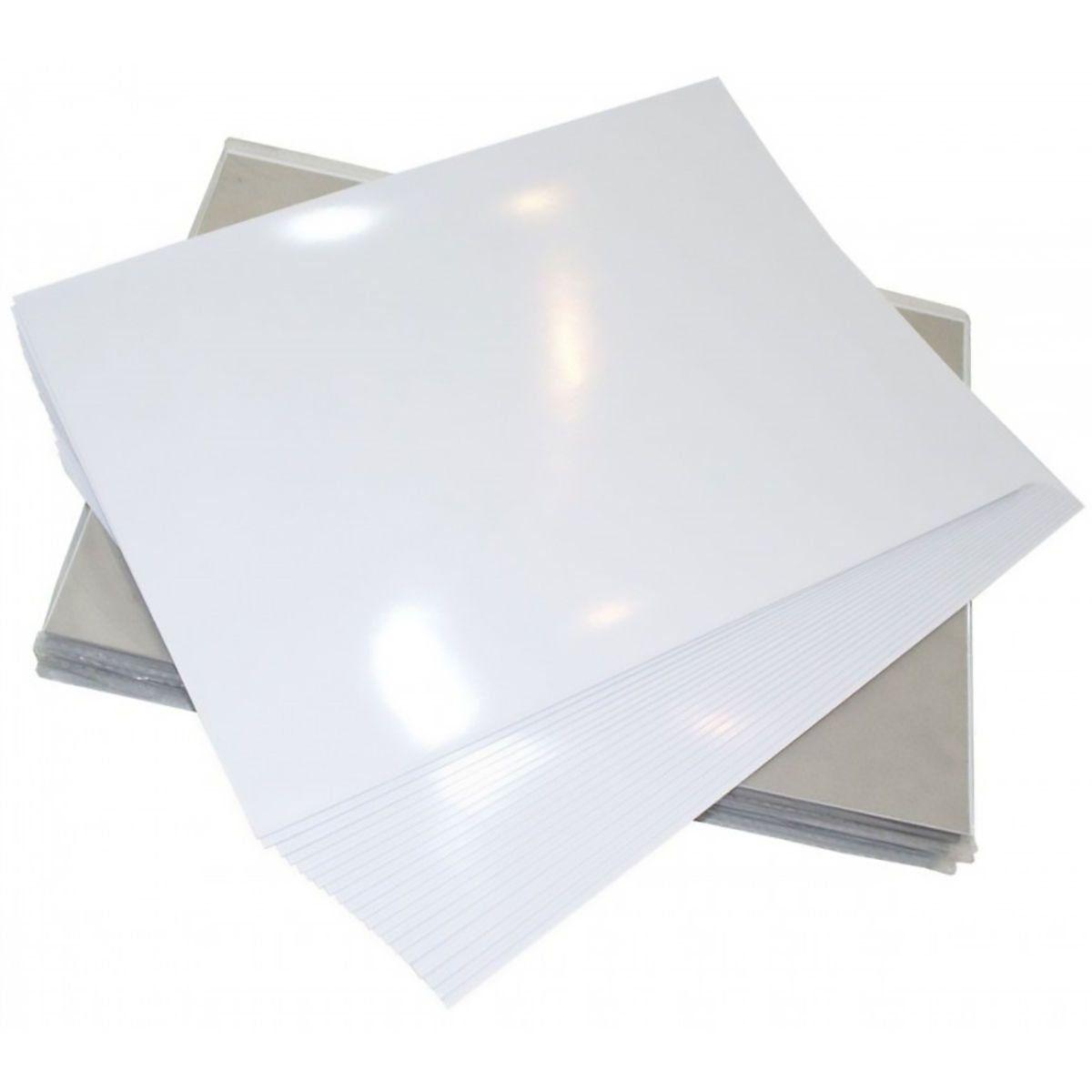 Papel Fotográfico A4 230g Glossy Branco Brilhante Resistente à Água / 300 folhas