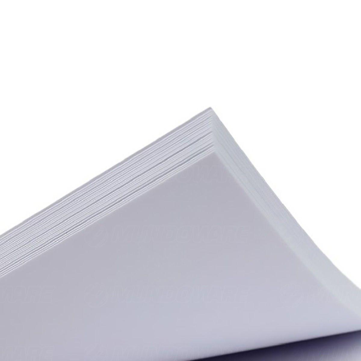 Papel Fotográfico Matte Fosco 108g A4 Branco Resistente à Água / 1000 folhas