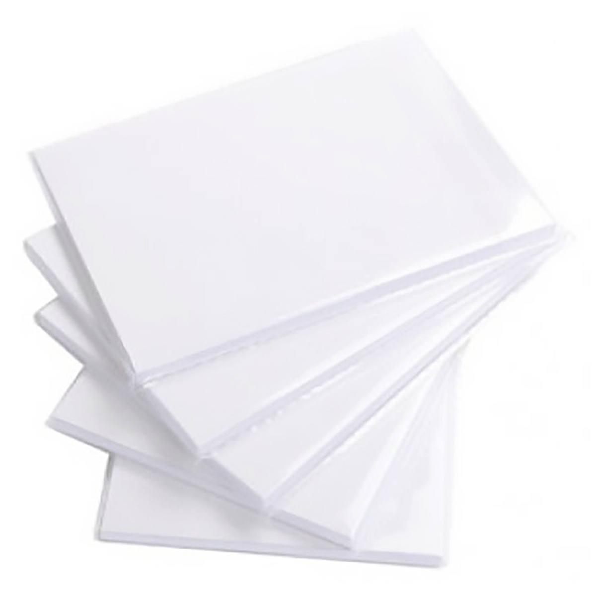 Papel Glossy 10x15 cm 180g Fotográfico Branco Brilhante com 200 Folhas