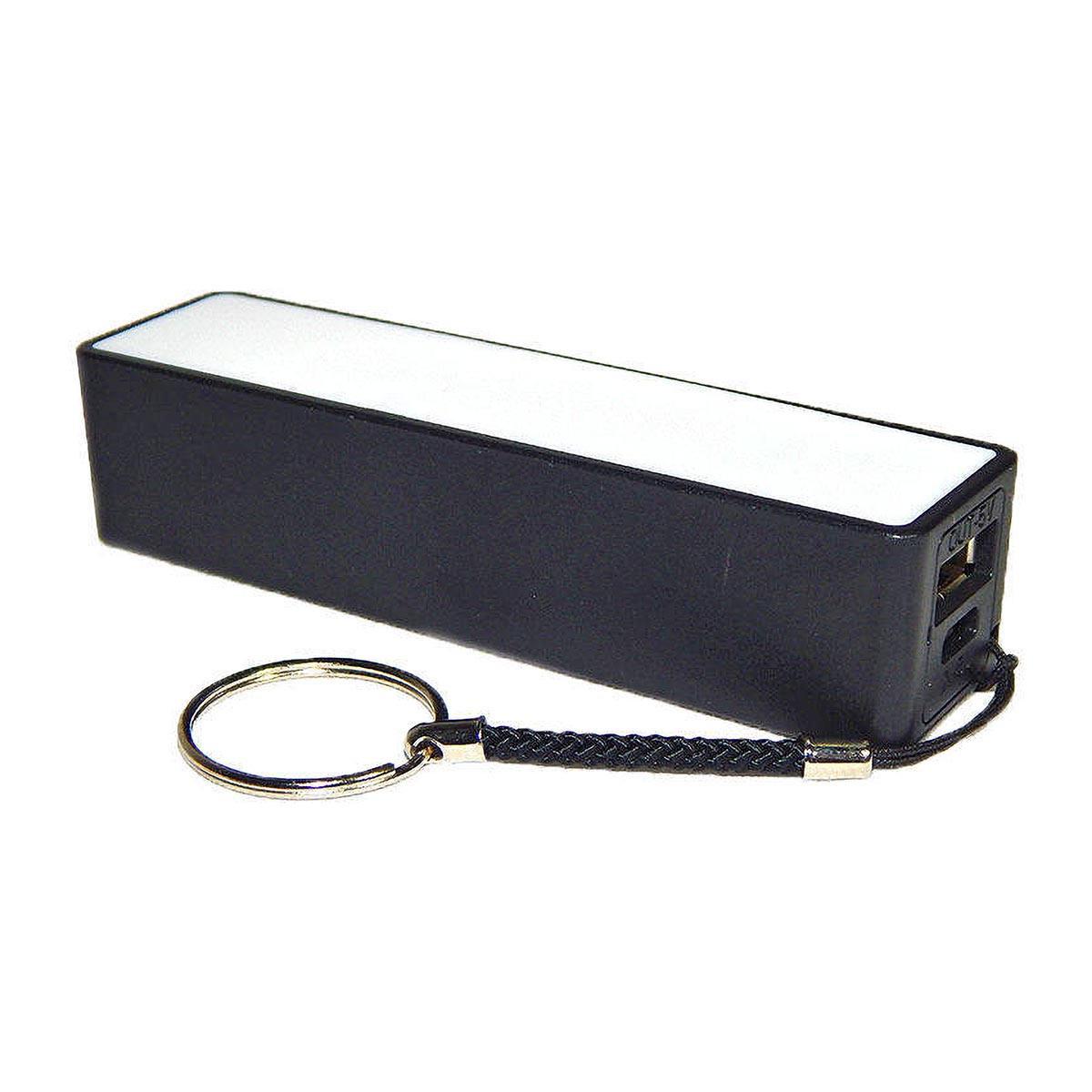 Power Bank de Bolso 2000mAh Carregador Portátil Pequeno para Celular Exbom PB-M1 Preto