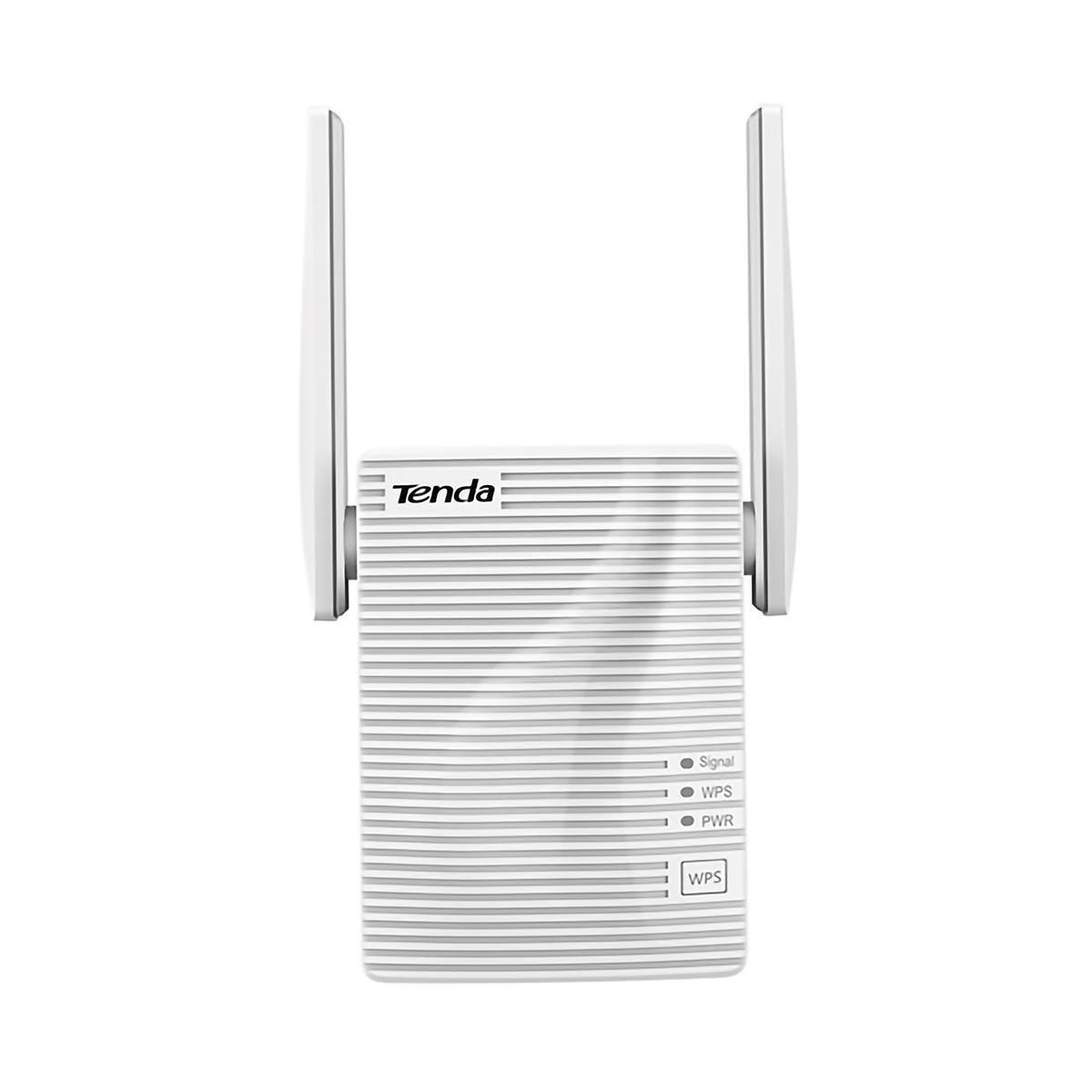 Repetidor de Sinal Wireless 1200Mbps 802.11AC Dual Band com 2 Antenas Externas e 1 Porta LAN Tenda Extensor A18