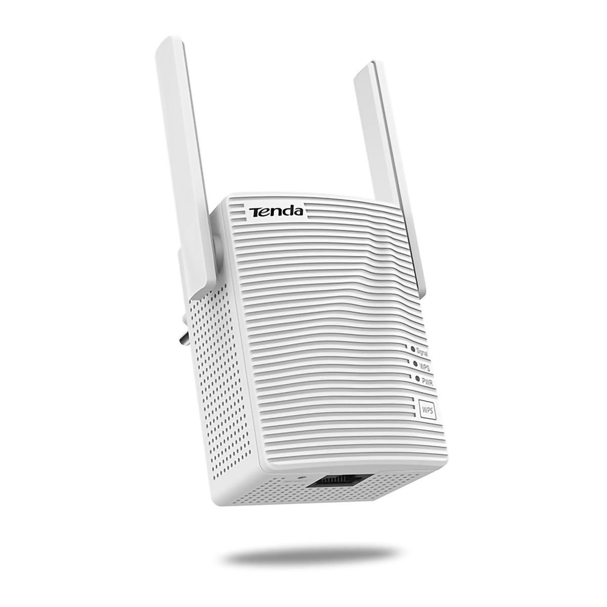 Repetidor Wireless 300Mbps 802.11N WI-FI com 2 Antenas Externas e 1 Porta LAN Tenda Extensor Sem Fio A301