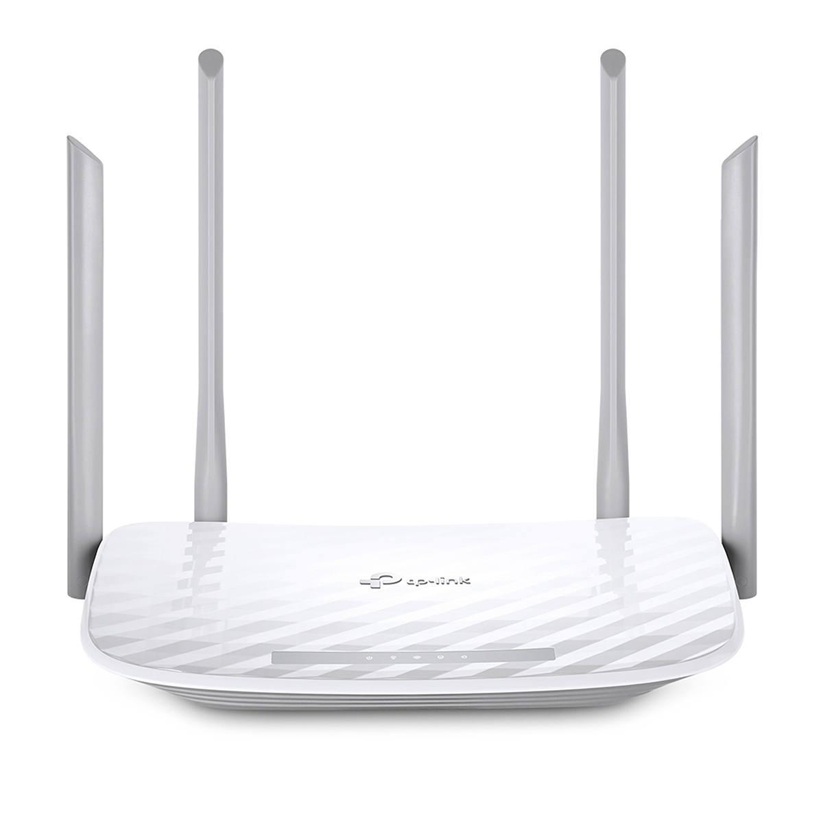 Roteador Wireless AC1200 TP-Link Archer C50 Dual Band Wi-Fi 867 Mbps + 300 Mbps 4 Antenas Multi-Modo 3 em 1