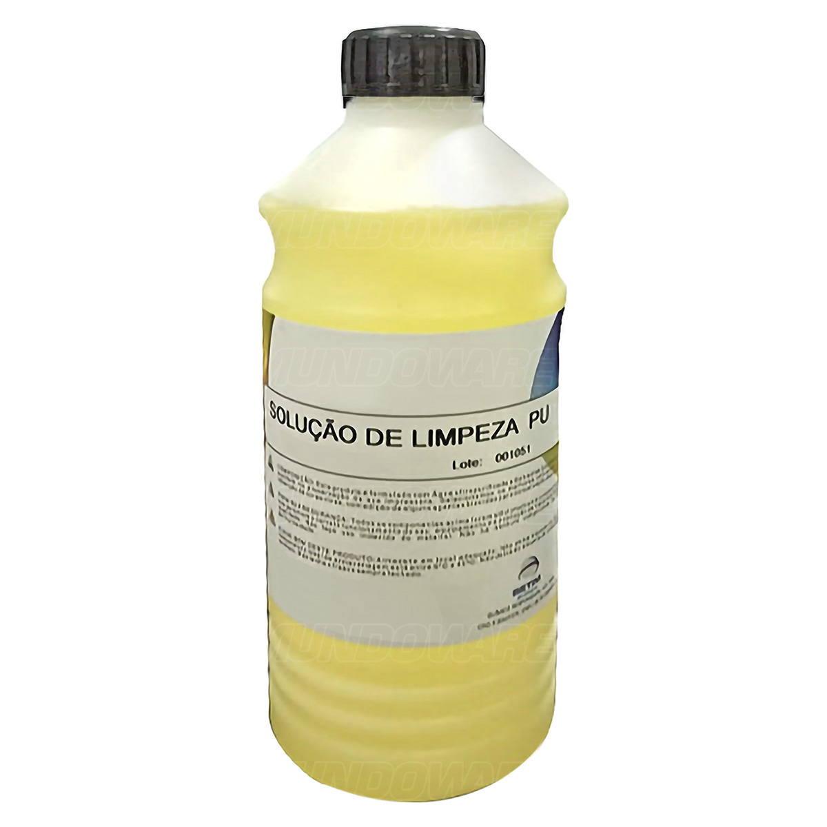Solução de Limpeza PU Qualy-Ink para Cartucho de Tinta Bulk Ink Tanque de Tinta / Refil de 1 Litro