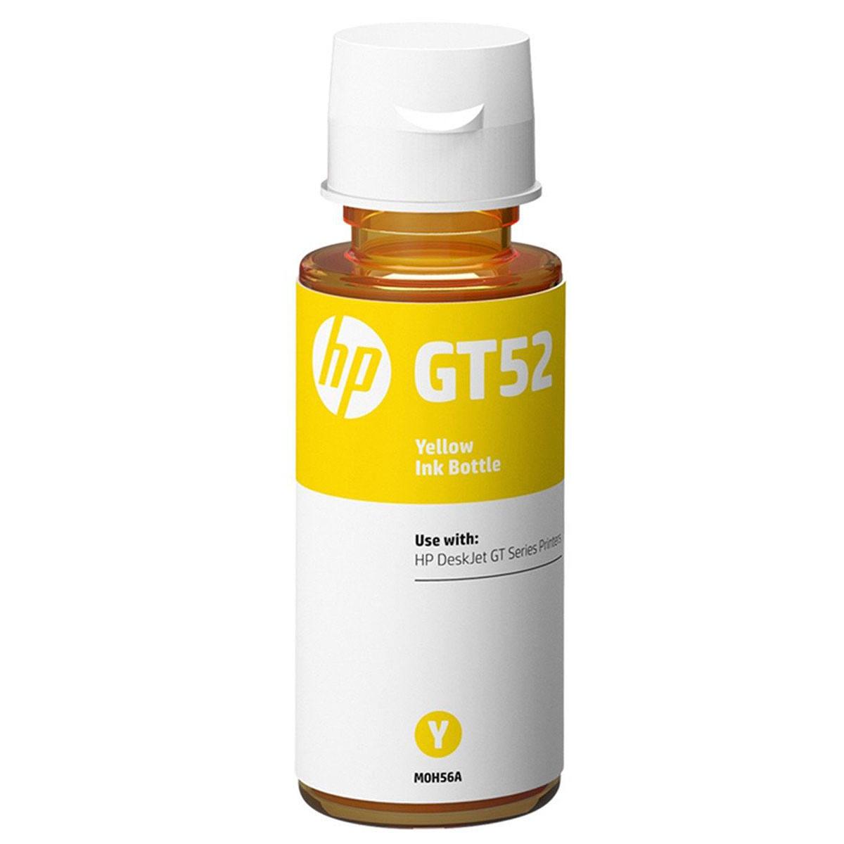 Tinta HP GT52 GT 52Y M0H56AL Original Amarela para HP Deskjet GT 5822 416 116 Smart Tank 517 532 617 Garrafa de 70ml