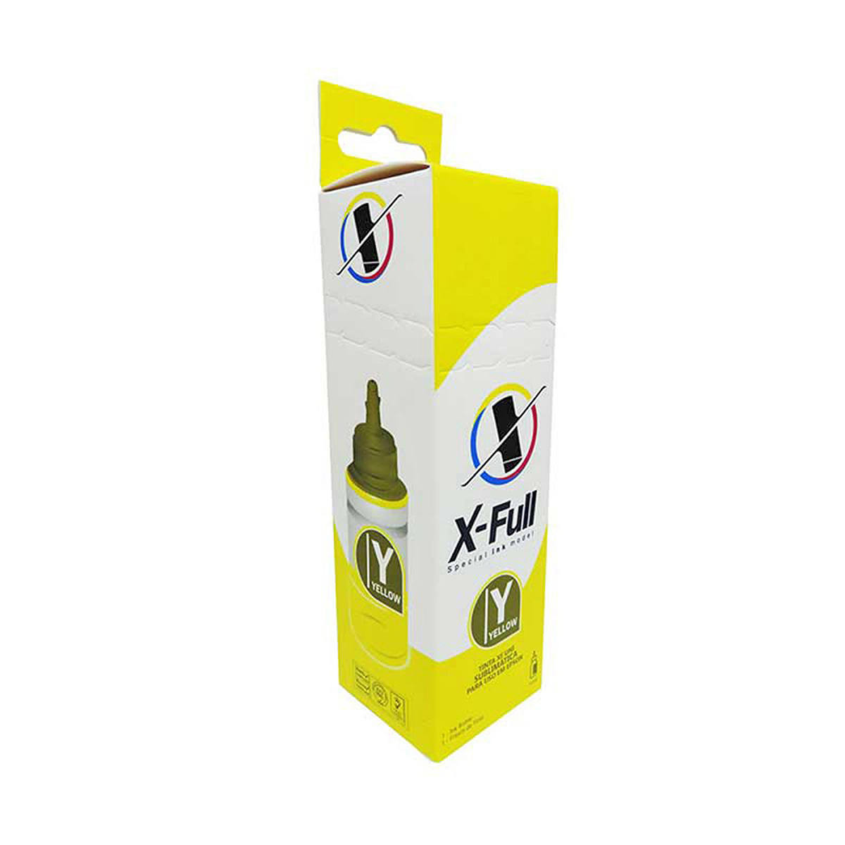 Tinta Sublimática X-Full para uso em todas as Impressoras Epson L Series 664 / Amarelo / Refil 100ml