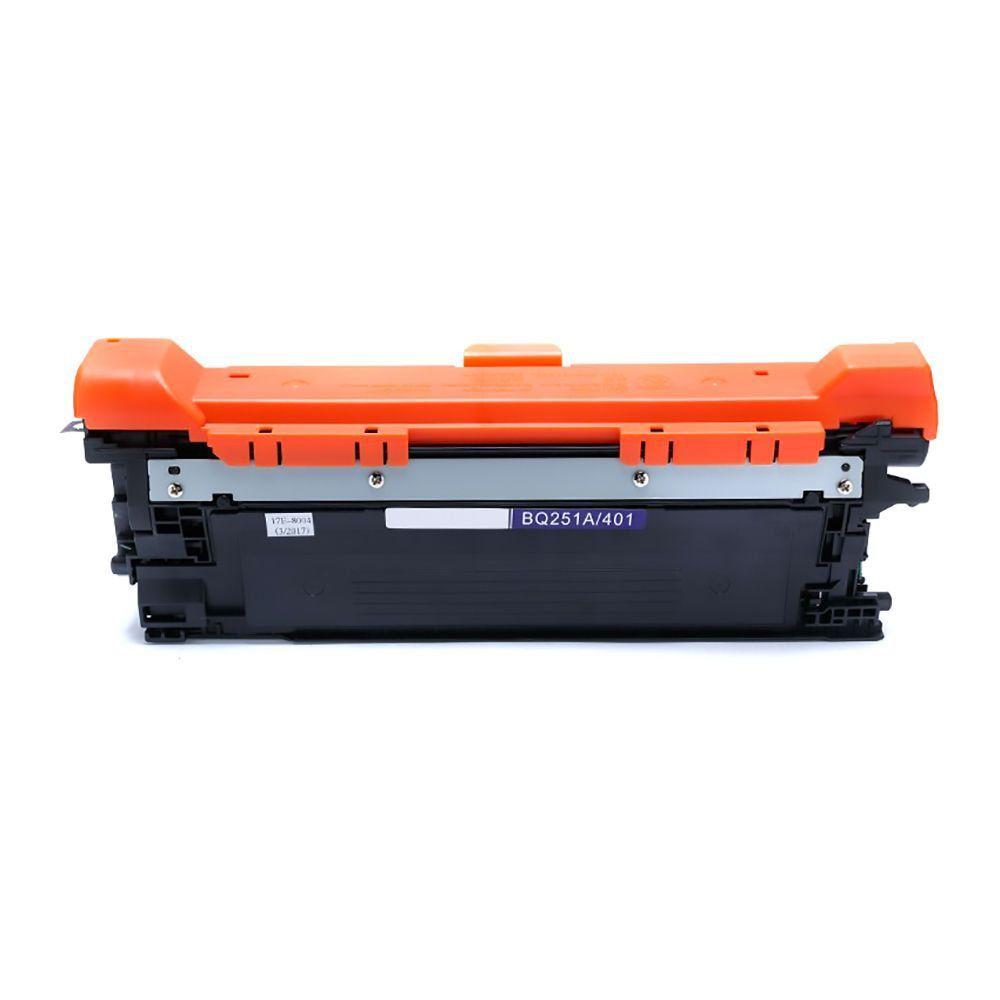 Compatível: Toner CE401A CE251A para HP CM3530 CP3525 M551dn M570dn M575dn M575c 3530 mfp  3525 dn / Ciano / 7.000