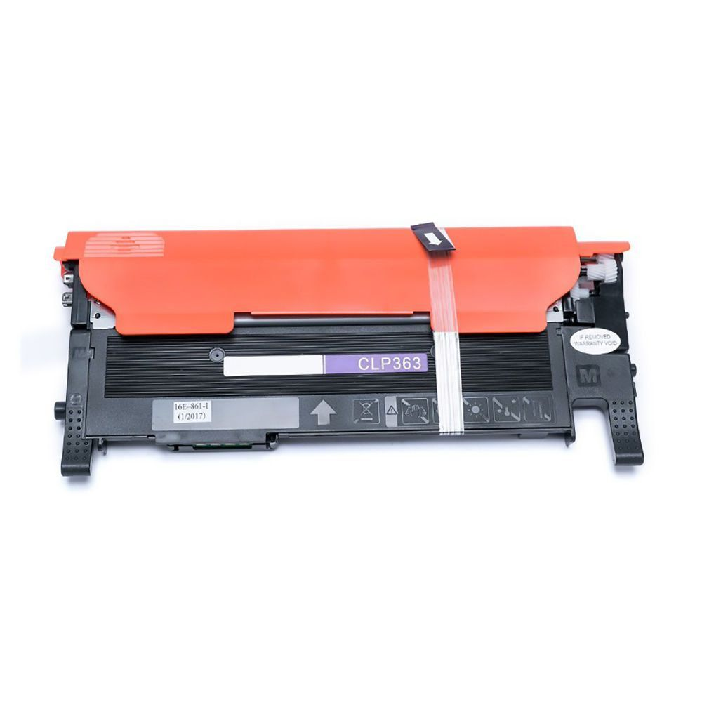 Compatível: Toner CLT-406 M406S para Samsung C460fw C410w CLP360 CLP365 CLP366 CLX3305fw CLX3300 / Magenta / 1.000