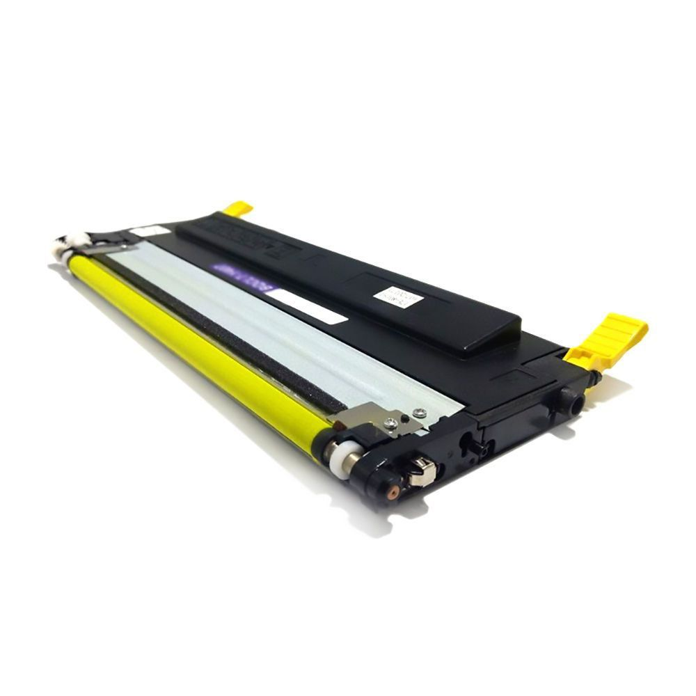 Compatível: Toner CLT-407S Y407 para Samsung CLX-3285 CLP-325w CLX-3185 CLX-3185n 3185fn 3185fw / Amarelo / 1.000