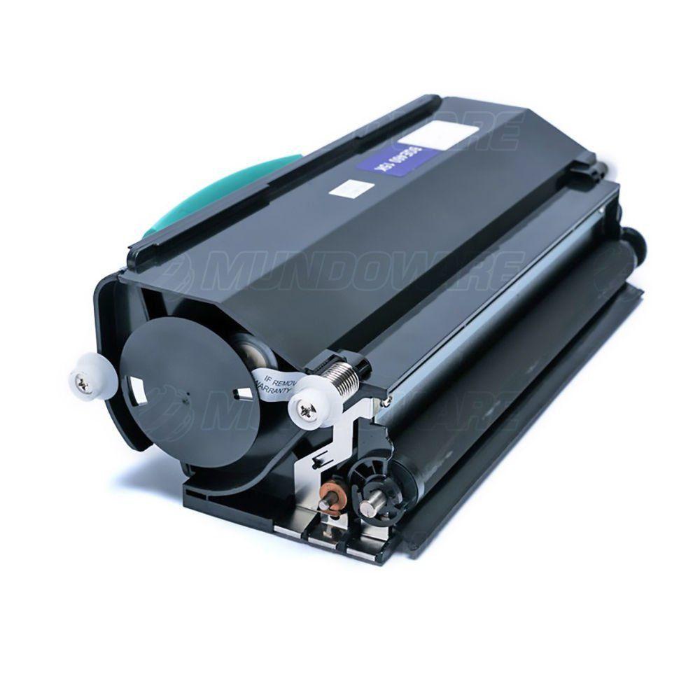 Compatível: Toner E-460 para Impressora Lexmark E460 E460d E460dn E460dw E-460d E-460dn E-460dw / Preto / 15.000