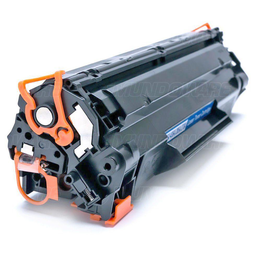 Compatível: Toner CB435A CB436A CE285A para HP P1102w P1102 P1109w M1132 M1210 M1212 P1005 P1006 M1120 / Preto / 1.800
