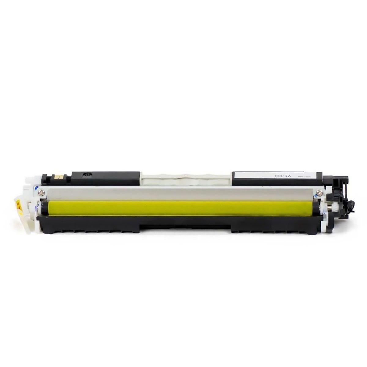 Compatível: Toner CE312A CF352A para HP CP1020 CP1025 M175 M176n M177 M177fw M275 M275nw 177fw / Amarelo / 1.000