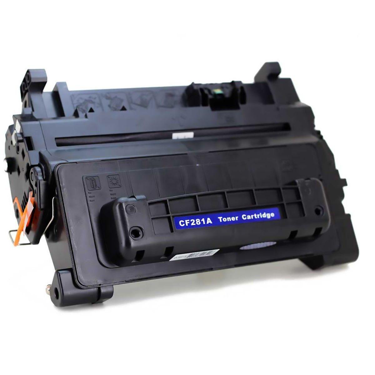 Compatível: Toner CF281A 281A 81A para HP M601 M602 M603 M604 M605 M606 M630 M601n M602dn M603dw M606dn / Preto / 10.500