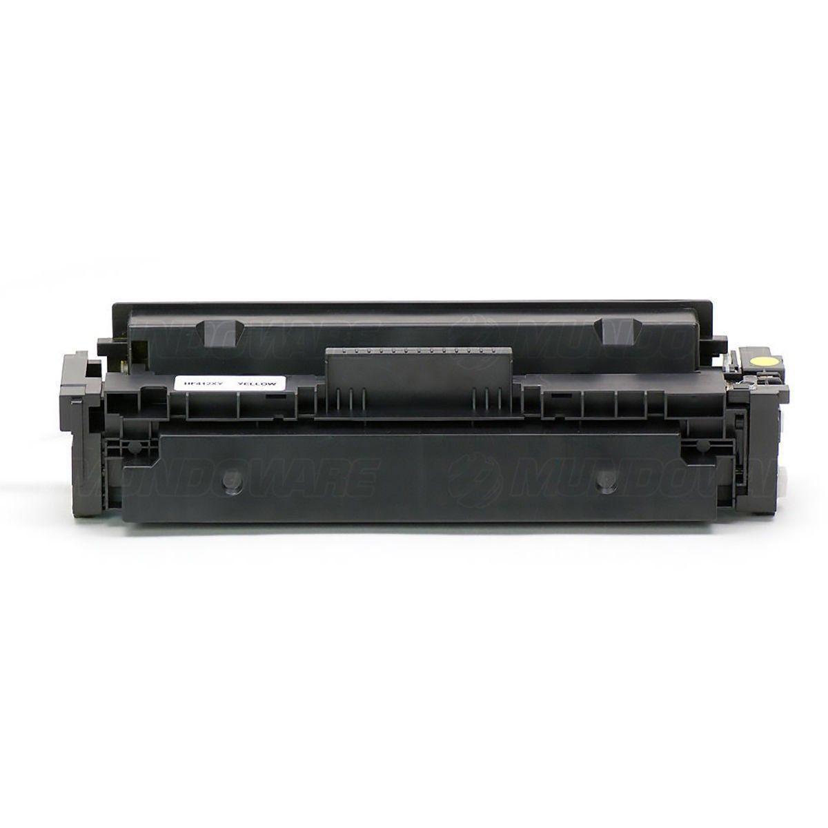 Compatível: Toner CF412X 412X para Impressora HP M477 M452 M477fdw M452dn M477fnw M452nw M-477fnw / Amarelo / 5.000