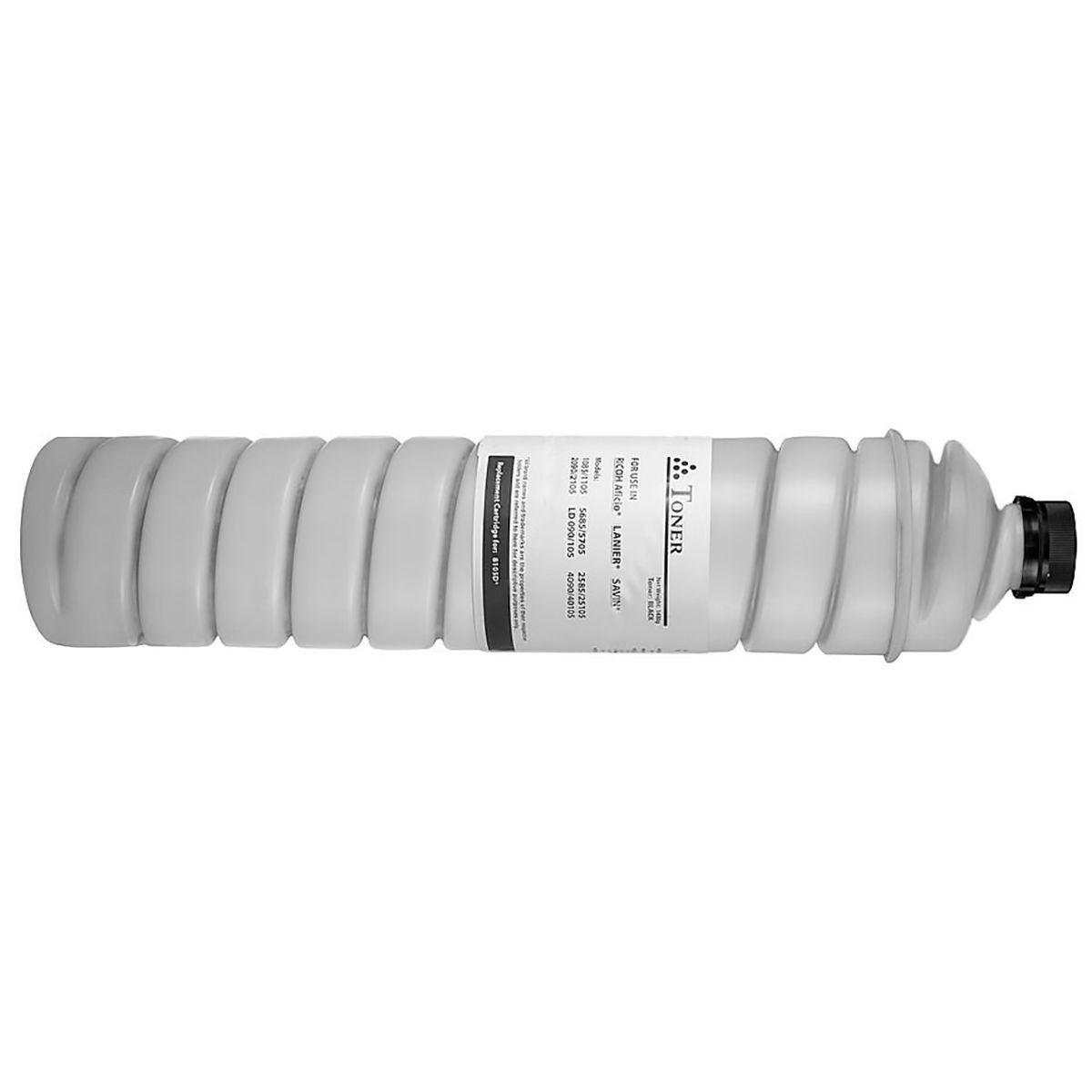Compatível: Toner 1130D para Ricoh MP1600 MP1610l MP1800 MP1801 MP1810l MP2000 MP2000spf MP-1610ld / Preto / 9.000