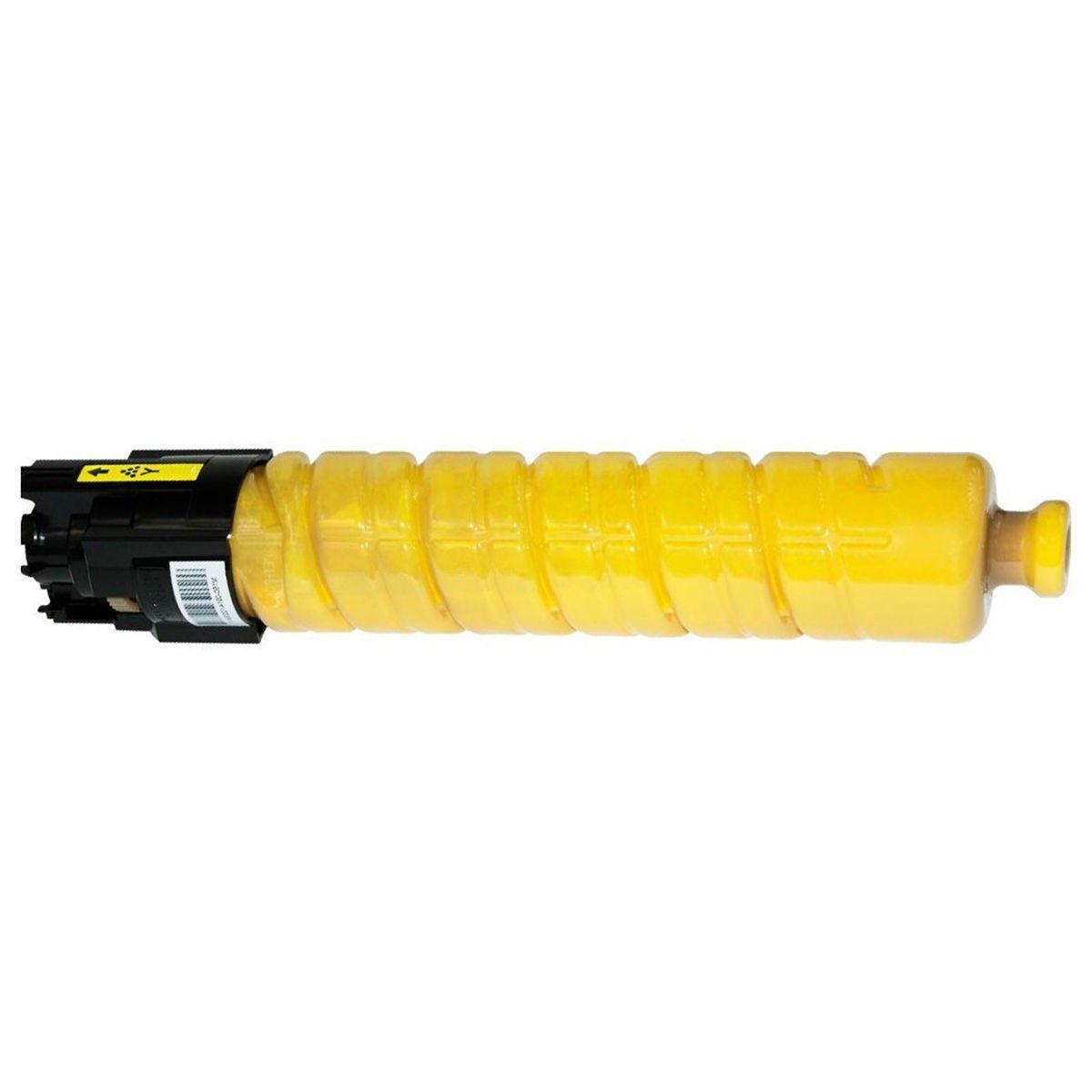Compatível: Toner C430Y para Ricoh Aficio SPC430 C431 C430dn C440dn SPC430 SPC431 SPC430dn SPC431dn / Amarelo / 21.000