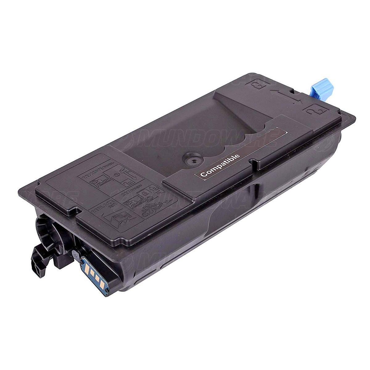Compatível: Toner TK3102 TK-3102 para Kyocera FS2100dn M3040idn M3540idn FS-2100dn M3040 M3540 FS2100 / Preto / 12.500